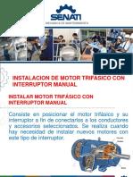 Instalacion de Motor Trifasico