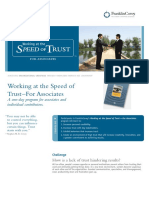 Working at the Speed of Trust