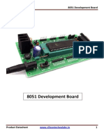 8051 Development Board Datasheet