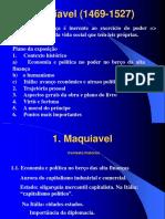 Maquiavel - resumo