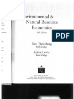 Tietenberg Valuing Environmental Benefits