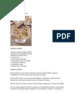 Pastel Frio Con Galletas Oreo
