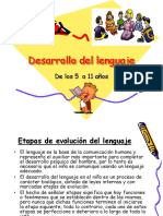 Desarrollo de Lenguaje de 5 a 10