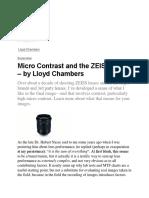 Zeiss Pop Microcontrast Lloyd Chambers Article