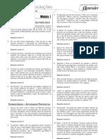 Português - Caderno de Resoluções - Apostila Volume 1 - Pré-Vestibular - port4 aula01