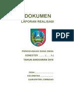 Contoh Lpj Dd Kab. Jombang
