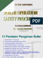 13 Peralatan Pengaman Boiler