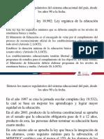 Marcos Regulatorios Desde 1990 a La Fecha