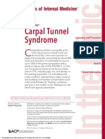 Annals of Internal Medicine Volume 163 Issue 5 2015 [Doi 10.7326%2FAITC201509010] Kleopa, Kleopas a. -- Carpal Tunnel Syndrome