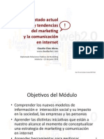Estado actual y tendencias del marketing y la comunicacion en internet