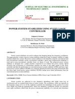 Power Stabilizer Using FL - 2