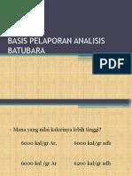 Basis Pelaporan Batubara (1)