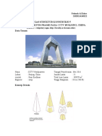 Analisis Struktur Frame CCTV Headquarter