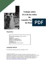 Trabajo sobre El sí de las niñas de Leonardo Fernández de Moratín