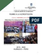 """Proyecto Educativo Institucional - Institución Educativa Emblemática """"Nuestra Señora de las Mercedes"""" - Huanuco"""