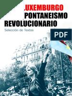 Rosa Luxemburgo y El Espontaneismo Revolucionario