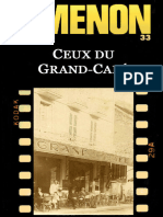 Ceux Du Grand-Cafe - Georges Simenon