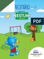 Recetario Nestum Carta Baja