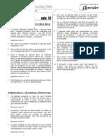 Português - Caderno de Resoluções - Apostila Volume 2 - Pré-Universitário - port4 aula10