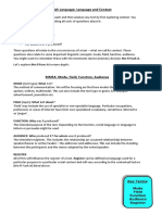 pdf version mode field function audience and language levels