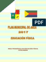 Plan Municipal Del Área de Ed. Fisica