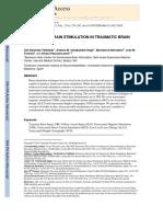 Non Invasive Brain Stimulation Tbi