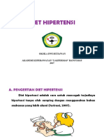 Diet Hipertensi Lembar Balik
