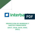 Proyección de Ingresos y Gastos Financieros