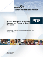 Singing and Health