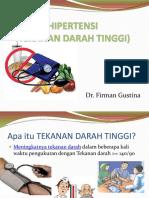 Penyuluhan Prolanis Hipertensi Dr Firman