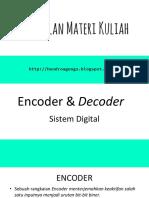 Encoder & Decoder