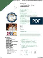 n-bus Power Flow Solver _ State Estimator - Anthony S. Deese, Ph.D.pdf