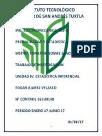 PROBABILIDAD Y EST. Unidad 4