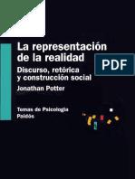 La Representación de La Realidad - Jonathan Potter