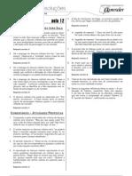 Português - Caderno de Resoluções - Apostila Volume 3 - Pré-Universitário - port4 aula12