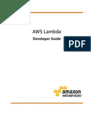 lambda-dg | Amazon Web Services | Areas Of Computer Science