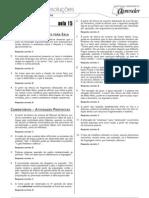 Português - Caderno de Resoluções - Apostila Volume 3 - Pré-Universitário - port4 aula15
