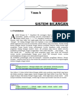 1. Bab i Sistem Bilangan