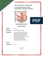 Cancer Hepatico Proyeccion en Ingles Completo
