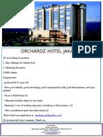 Orchardz Jayakarta Brosur Loker