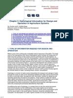 Hidrologia pentru proiectare