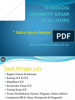TOD TM-2 (Siklus Kerja Motor 2 & 4 Tak)