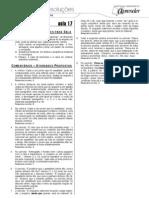 Português - Caderno de Resoluções - Apostila Volume 4 - Pré-Universitário - port2 aula17