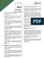 Português - Caderno de Resoluções - Apostila Volume 4 - Pré-Universitário - port2 aula18