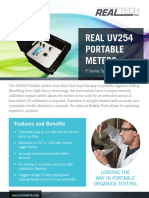 Real UV254 Portable Meter