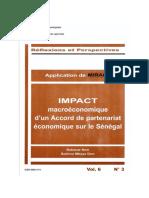 Etude Sur l'Impact Des APE Sur l'Économie Du Sénégal
