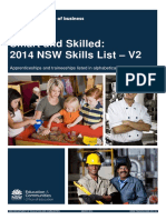 2014 Skills List at Qualification V2