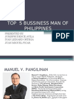 Top 5 Bussiness Man of Philippines