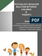 Psychology Behavior