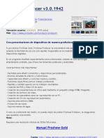 Proshow Producer v3.0.1942  - Manual em Espanhol